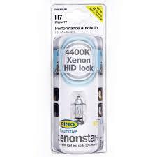 rw4477 ring h7 55w xenon 30 brighter headlight bulbs 4400k