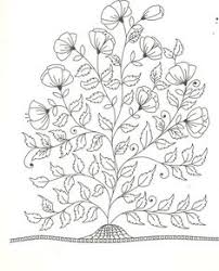 Floral Coloring Page 7