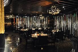 Contemporary And Romantic Fine Dining Restaurant Interior Design Of Jean Georges Steakhouse Las Vegas Room