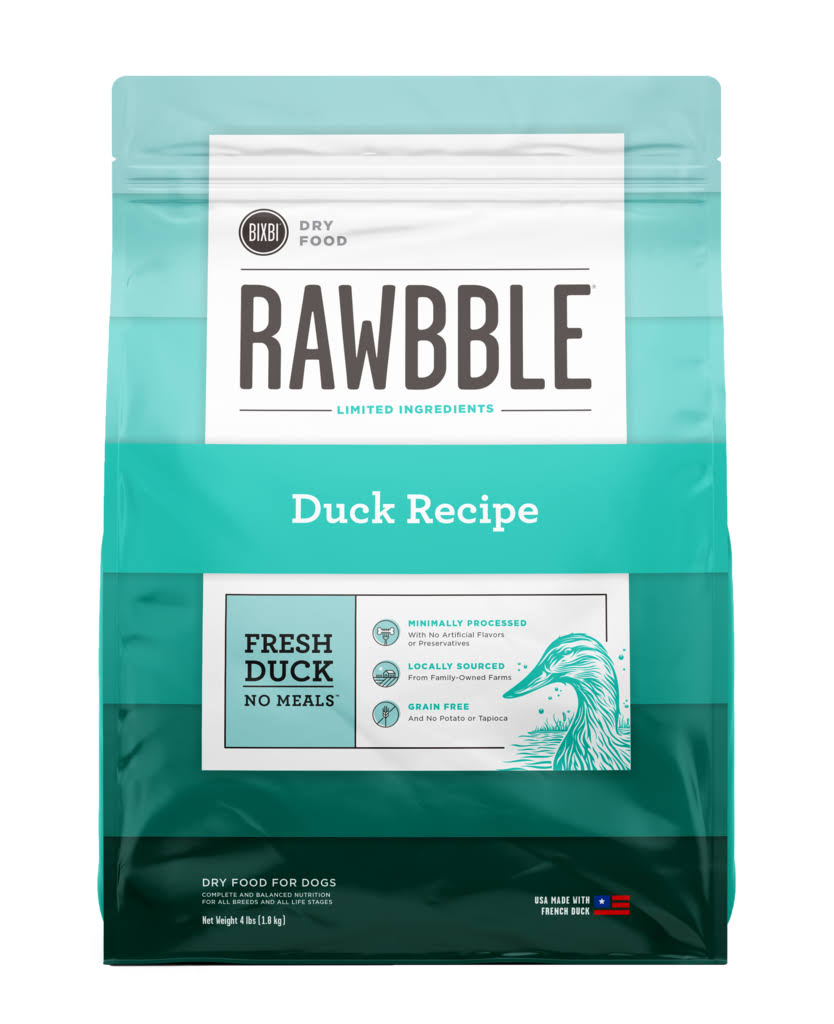 Rawbble Dry Food Duck Recipe 24 lb