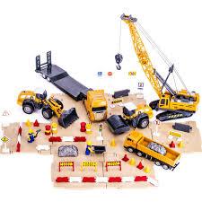 Amazon.com: IPlay, ILearn Engineering Construction Site Play Set ...