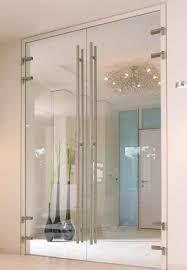 glaspendeltüren 2 flügelig für badezimmer loft mit design