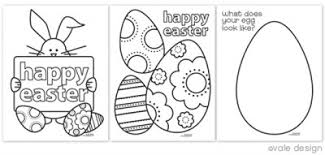 Easter Coloring Pages Happy