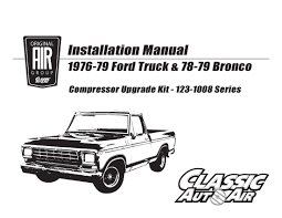 76-79 F-Series Truck/78-79 Bronco AC Compressor Kit V8 STAGE-1 ... Flashback F10039s New Arrivals Of Whole Trucksparts Trucks Or 31979 Ford Truck Parts Manuals On Cd Detroit Iron 1979 Fordtruck F 100 79ft6636c Desert Valley Auto Rust Free 7379 Cab Enthusiasts Forums 671979 Dennis Carpenter Restoration 197379 Master And Accessory Catalog 1500 Dump For Sale Centre Transwestern Centres Cheap 79 Find Deals Line At Alibacom Wiring Diagram 1971 F100 Ignition Canadaford Free Best Fmc Fire Rickreall Or Cc Heavy Equipment
