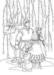 Frozen Coloring Book Pages Free