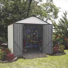 Arrow Shed Door Assembly by Free Shipping U2014 Arrow Ezee Shed Steel Storage Shed U2014 8ft X 7ft