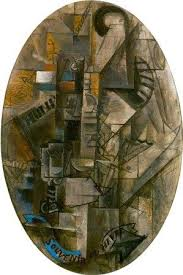 Still Life With Chair Caning Mood by Cubism Art Movement Definition Artists Paintings Phases U0026 More