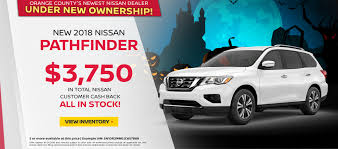 Nissan Dealer Santa Ana, Anaheim, Irvine & Orange County | Nissan Of ...