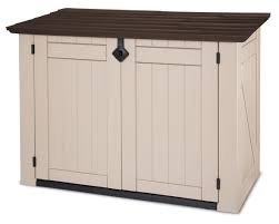 Suncast Db5000 50 Gallon Deck Box by Extra Large Outdoor Storage Containers Exclusive Garden Shed With