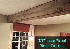 100 Beams On Ceiling Recliamed Barn Wood Beam Covering Moldings Columns For