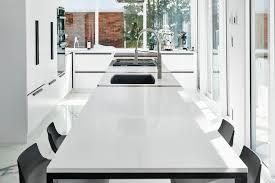 comptoir de cuisine quartz blanc renovation home town of mount royal rockland avenue