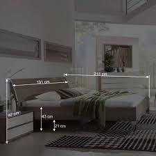 schlafzimmer komplettset crenba in creme 4 teilig