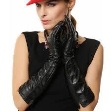 long black gloves for women dress images