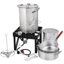 Turkey Fryer Kit   Backyard Pro 30 Quart Deluxe Turkey Fryer Kit ... Backyard Pro 30 Quart Deluxe Turkey Fryer Kit Steamer Food Best 25 Fryer Ideas On Pinterest Deep Fry Turkey Fry Amazoncom Bayou Classic 1195ss Stainless Steel 32 Accsories Outdoor Cookers The Home Depot Ninja Kitchen System 1500 Canning Supplies Replacement Parts Outstanding 24 Basic Fried Tips Qt Cooking 10 Pot Steel Fryers Qt