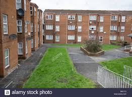 100 Concrete Residential Homes Three Storey Council Flats In Carmarthen Town Center