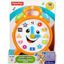 Fisher-Price Laugh & Learn Counting Colors Clock - Walmart.com Fisher Price Laugh And Learn Farm Jumperoo Youtube Amazoncom Fisherprice Puppys Activity Home Toys Animal Puzzle By Smart Stages Enkore Kids Little People Fun Sounds Learning Games Press N Go Car 1600 Counting Friends Dress Sis Up Developmental Walmartcom Grow Garden Caddy
