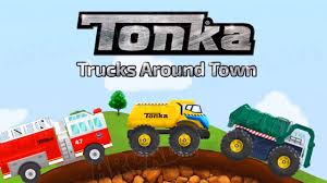 100 Tonka Truck Games S Around Town Kids Game Play The Cars Garbage