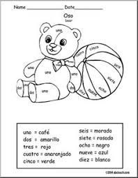 Default Pictures Of Free Spanish Coloring Pages