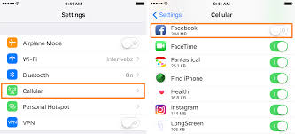 How to use less cellular data in the app