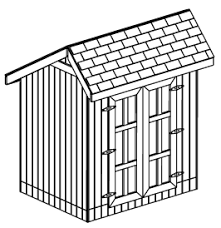 custom saltbox shed plans 6 x 8 shed detailed building plans