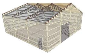 How To Build Pole Barn Construction by The Green Building Post Frame Building Texwin Barns
