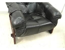 Percival Lafer Brazilian Leather Sofa by Lounge Chair Ottoman Percival Lafer Mp 091 Rosewood Leather Brazil