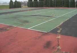 tennis court install tennis court repair court repair