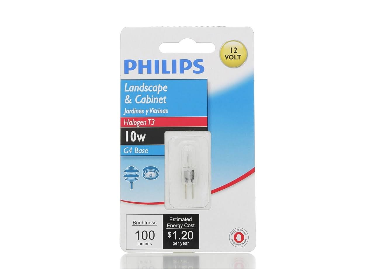 Philips Landscape and Cabinet T3 Bi-Pin Base Light Bulb - 10W