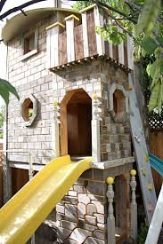 87 Best Castle Re-do Inspiration Images On Pinterest | Play Houses ... A Diy Playhouse Looks Impressive With Fake Stone Exterior Paneling Build A Beautiful Playhouse Hgtv Building Our Backyard Castle Wood Naturally Emily Henderson Best Modern Ideas On Pinterest Kids Outdoor Backyard Castle Plans Plans Idea Forget The Couch Forts I Played In This As Kid Playhouses Playsets Swing Sets The Home Depot Pirate Ship Kits With Garden Delightful Picture Of Kid Playroom And Clubhouse Fort No Adults Allowed