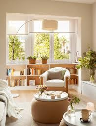 wohnzimmer einrichten fensterfront best living room design