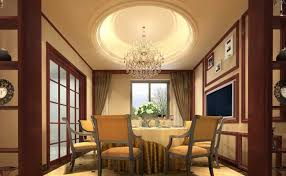 Latest False Ceiling Designs Gypsum For Dining Room Picture