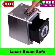 mini coffre fort a code vente en gros abs compact 4 chiffres code d alarme faisceau laser