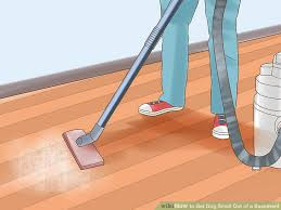 Dog Urine Odor Hardwood Floors by 6 Ways To Get Dog Smell Out Of A Basement Wikihow