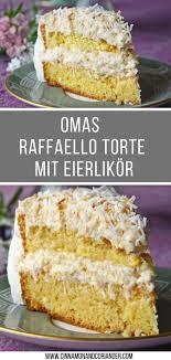 omas geniale raffaello torte mit eierlikör
