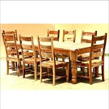 Creative Dining Tables Sets Photos Wood Table Set Rustic Room For Sale Brown Round