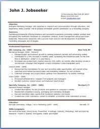 Ginger Account Manager Resume Template Free
