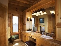 Country Bathroom Decor Wooden Schemed