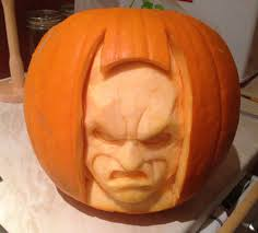 Pumpkin Contest Winners by A Great Batman Pumpkin