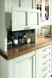 Coffee Cabinet Office Station For