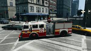 100 Gta 4 Trucks Fire Truck FDNY For GTA