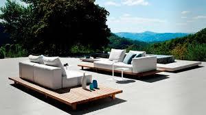 canapé de jardin design stunning salon de jardin design bois contemporary amazing house