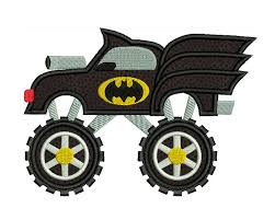 BATMAN Monster Truck Superhero Machine Applique Embroidery - Instant ... Birthday 5 Monster Truck Applique Creative Appliques Design Designs Pinterest Fire Applique Embroidery Design Perfect To Add A Name Easter Sofontsy Blazed Monster Trucks Clipart Zeg The Dinosaur Crushed 100 Days Of School Svg Bus Lunastitchescom Old Drawing At Getdrawingscom Free For Personal Use Line Art Download Best Index Cdn272002389 Frenzy