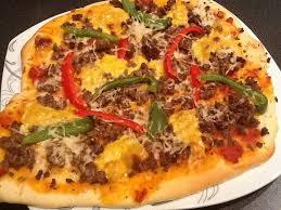 pâte a pizza au lait fermenté lben recettedesorawel