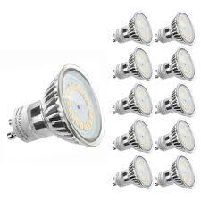 le led gu10 50w 10 pack 3 5w gu10 led bulb 300lm replace 50w halogen l le