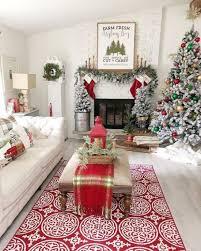 wie kann eine traumhafte weihnachtsdeko im wohnzimmer