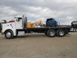 USED 2004 PETERBILT 385 FLATBED TRUCK FOR SALE IN MS #6470