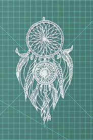 Dreamcatcher Papercut Art Decor