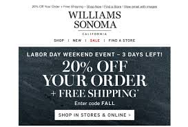 Williams Sonoma Coupon Code 20 Off / Thick Quality Glass Coupon E2save Coupons Carol School Supply Printable Krazy Coupon Lady Loccitane Boston Hotel Discount Codes Hilton Corelle Outlet Store Promo Code Animoto Corningware Corelle Black Friday Sale Childrems Place Hop On Hop Off New York Shop Ccs Gordon The Hobbit Shop Deals Ac In Delhi Best Sale Bespoke Verse Download To My Phone Flash Sale 20 Your Total Frys Discount Bakery Denton Kids Set Bath And Body Works