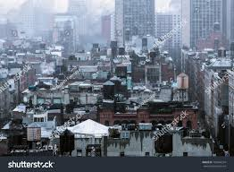 100 Tribeca Rooftops Area Manhattan New York Stock Photo Edit Now