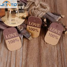 Candy Box Accessories Kraft Paper Label Rustic Wedding Centerpieces Vintage Decoration Decor In Cards Invitations From Home